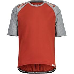 Maloja JupiterbartM. Gravel Shirt Men, rojo/gris